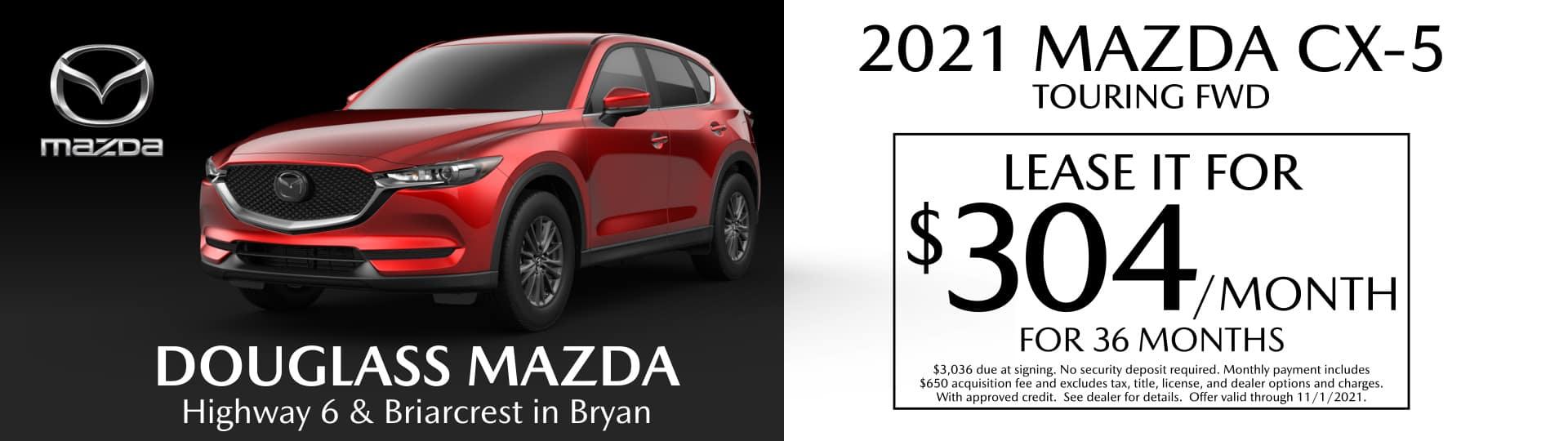 CX-5 Mazda Lease Special