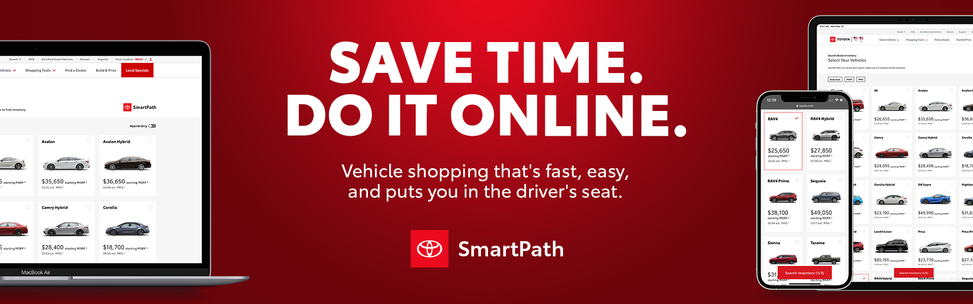 SmartPath Online Shopping Homepage Asset