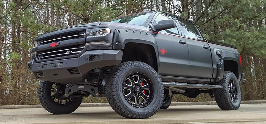 Chevy Black Widow Lifted Trucks Reviewed Burlington Chevrolet