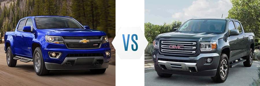 Canyon Vs Colorado >> 2017 Chevrolet Colorado Vs Gmc Canyon Burlington Chevrolet