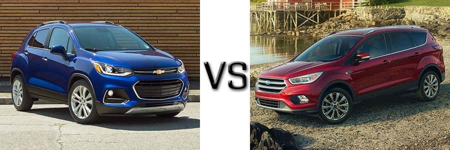 Performance Ford Nj >> 2017 Chevrolet Trax vs Ford Escape | Burlington Chevrolet