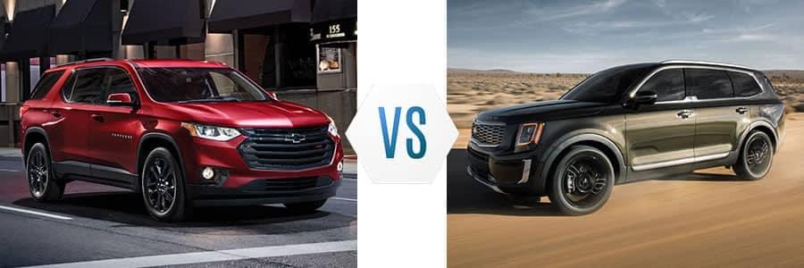 Chevrolet Traverse vs Kia Telluride | Burlington Chevrolet