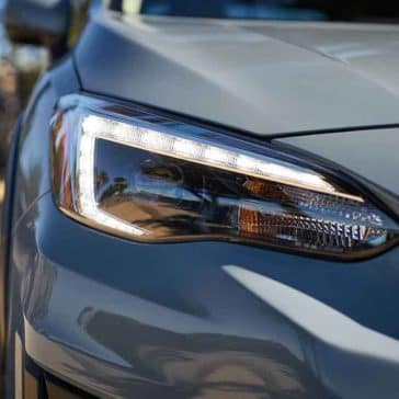 2018 Subaru Crosstrek headlight detail