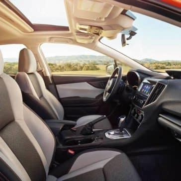 2018 Subaru Crosstrek interior from passenger side