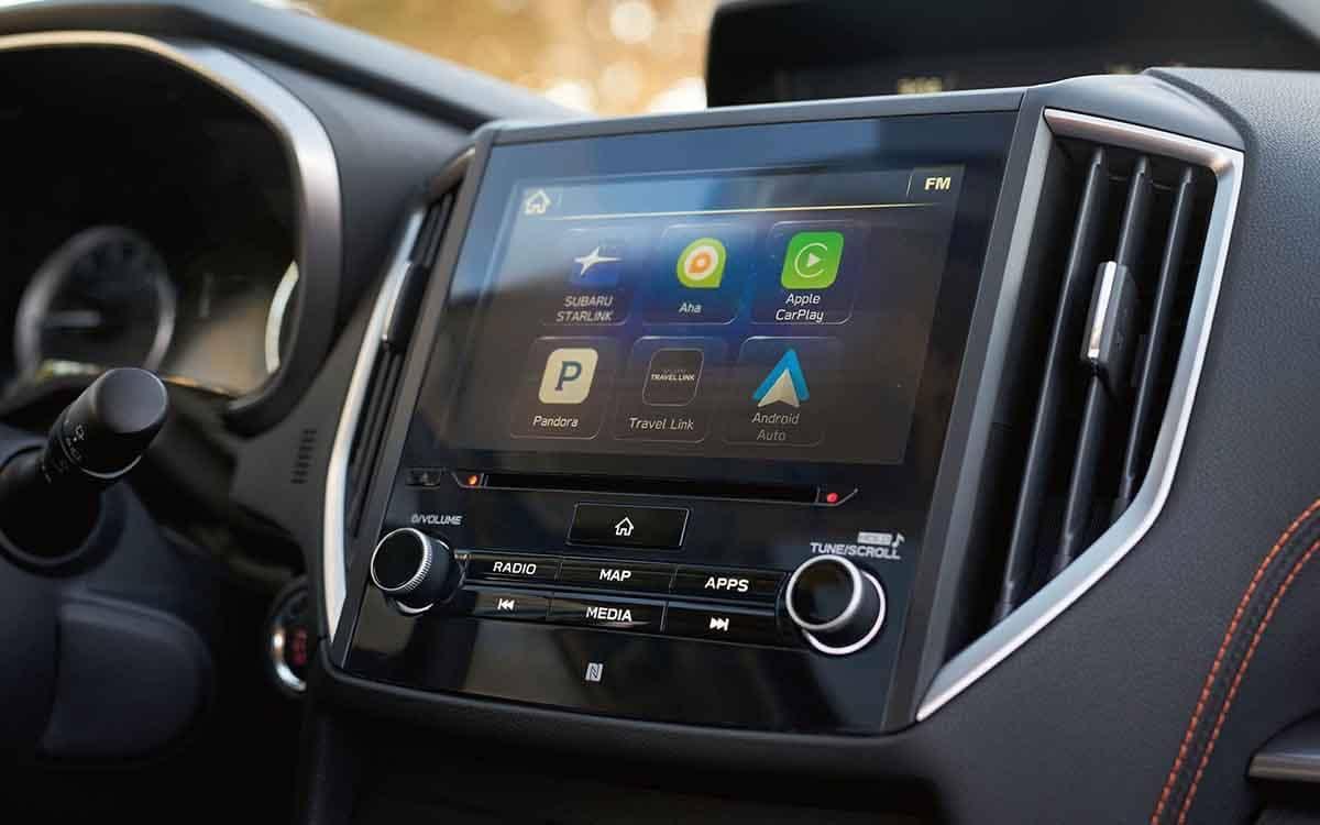 2018 Subaru Crosstrek infotainment system