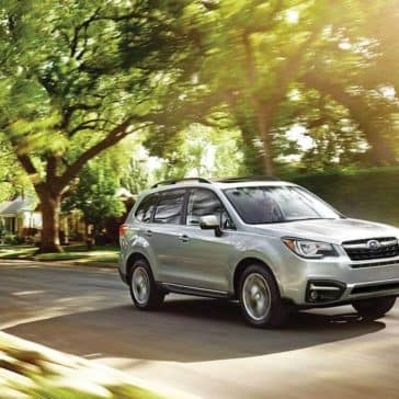 2018 Subaru Forester driving
