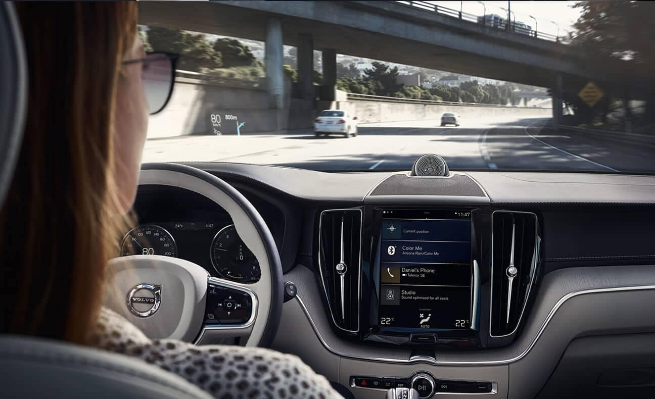 2018 Volvo XC60 interior with driver