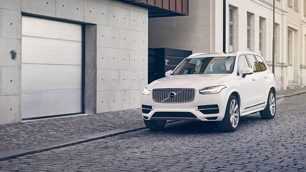 2018 Volvo XC90 Exterior by Parking Spot in City