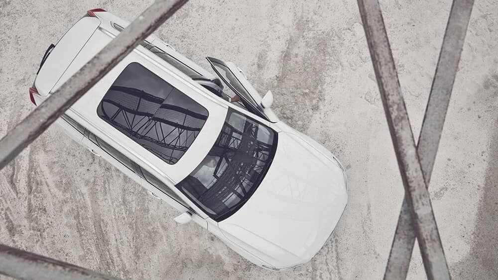 2018 Volvo XC90 Exterior Aerial View including Sunroof