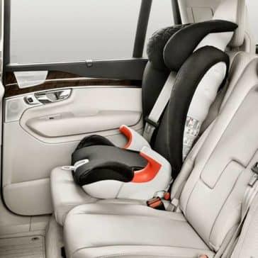 2018 Volvo XC90 Interior Car seat LATCH system