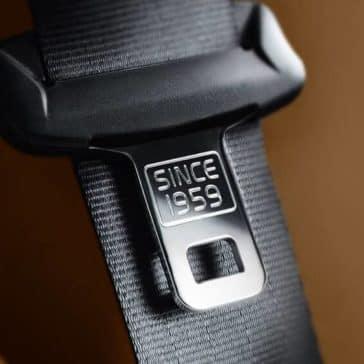 2018 Volvo XC90 Interior Seatbelt Since 1959