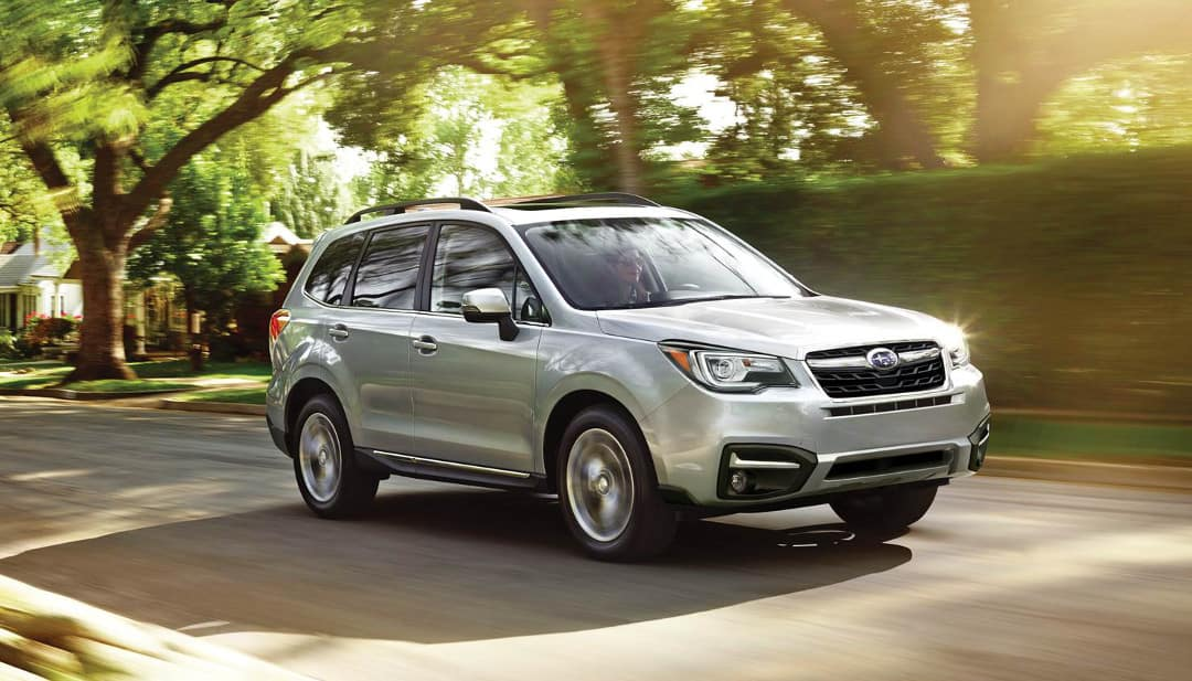 2018 Subaru Forester 2.5i Touring on residential street