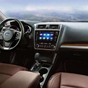 2019 Subaru Outback Interior Front Seating and Dashboard