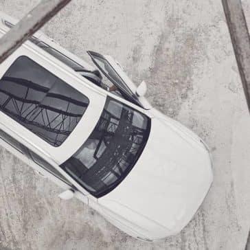 birds eye view of 2019 Volvo XC90