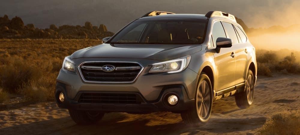 2019 Subaru Outback on Dusty Trail