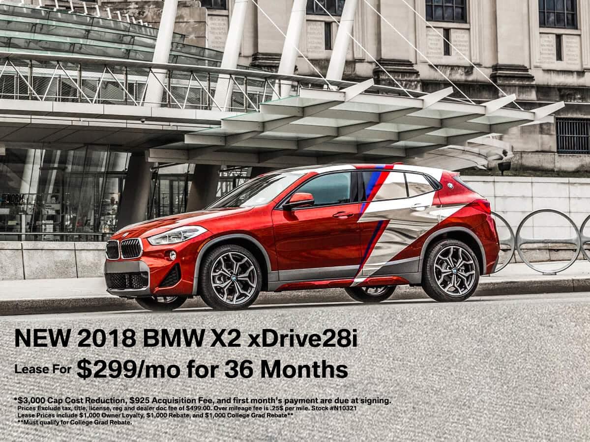 BMW X2 Lease Offer NJ