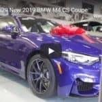 New 2019 BMW M4 CS Coupe Walk-Around Video