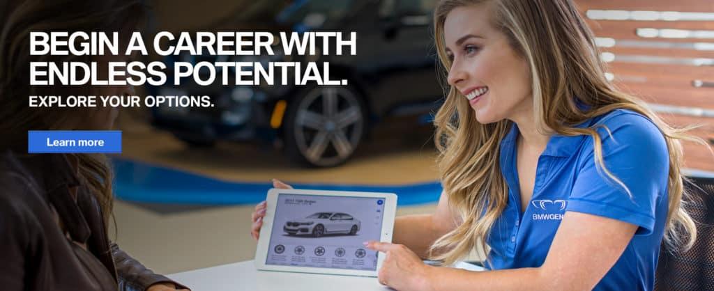 Circle BMW Employment Banner