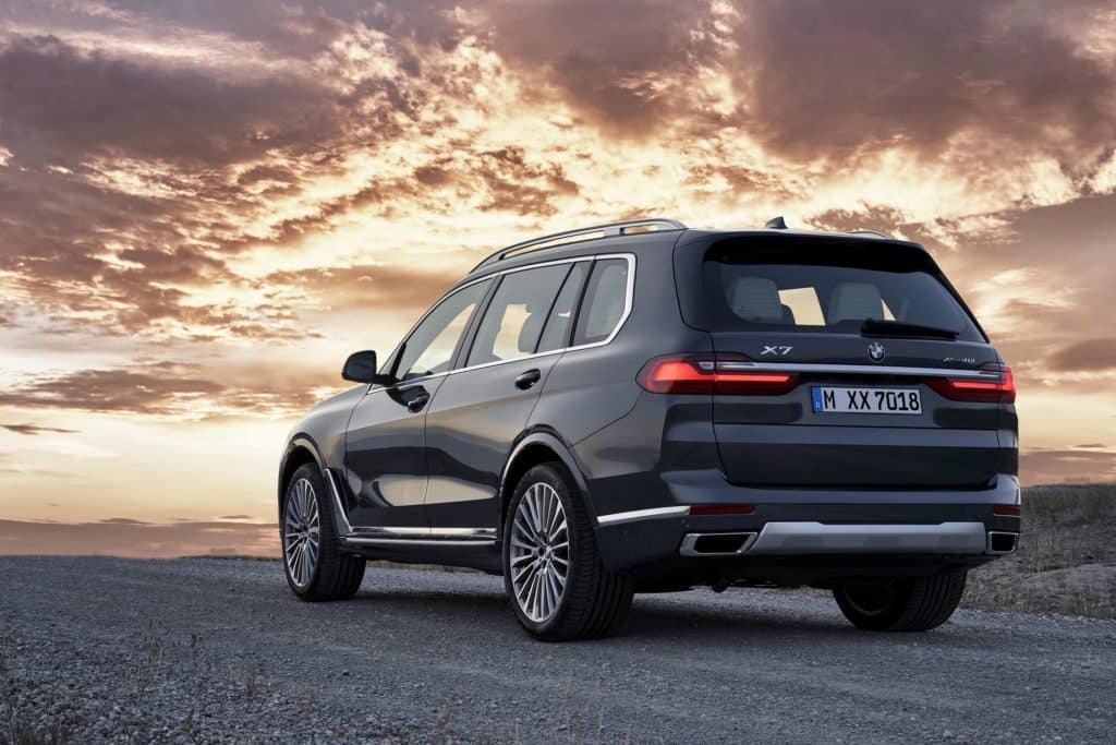 First-Ever BMW X7