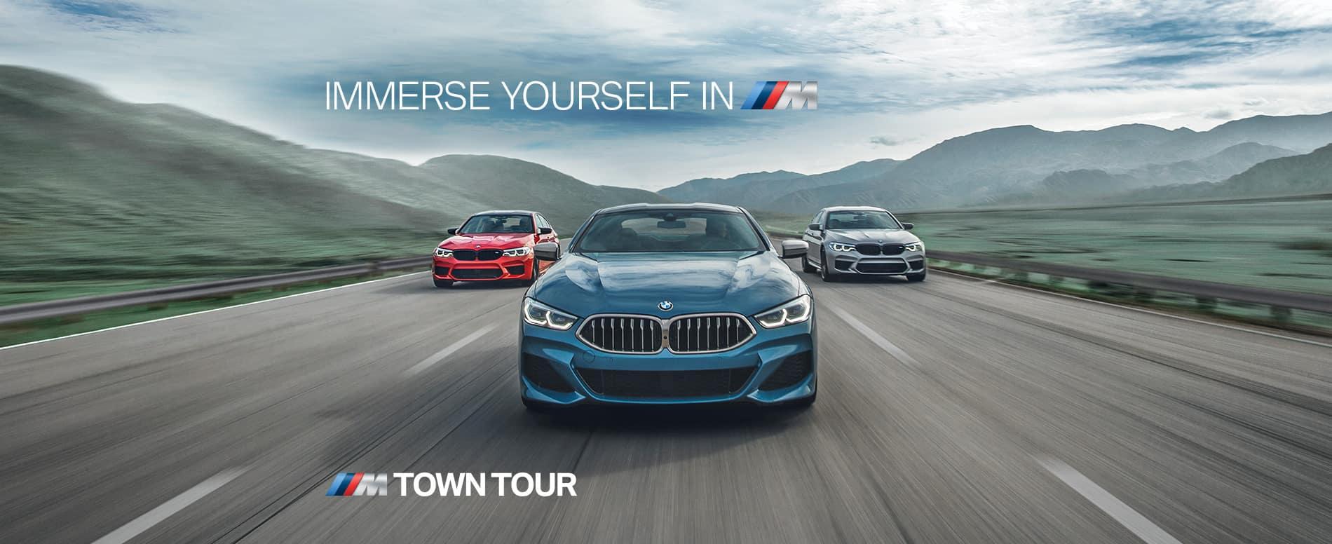 M Town Tour Banner