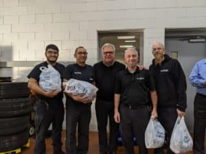 Our parts and accessories team is second to none! They know everything about BMW parts and lifestyle accessories. Pictured from left to right: Franco Cabrera, Edwin Cabrera, Circle BMW President Tom DeFelice, Parts Manager, Ken Vicari and Josef Bussem.