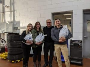 Circle BMW customers are greeted by these friendly faces at our Service Desk. Pictured from left to right are Service Greeters: Jillian Clancy, Anaiez Martinez, Circle BMW President, Tom DeFelice and Brandon Gregory.