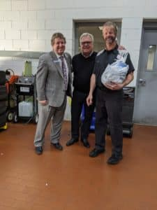 Our current General Manager, Larry Powell, pictured left, started his career as a BMW technician. He is joined by Circle BMW President, Tom DeFelice and Technician Kevin Wronski. Kevin has worked at Circle BMW since 1989.