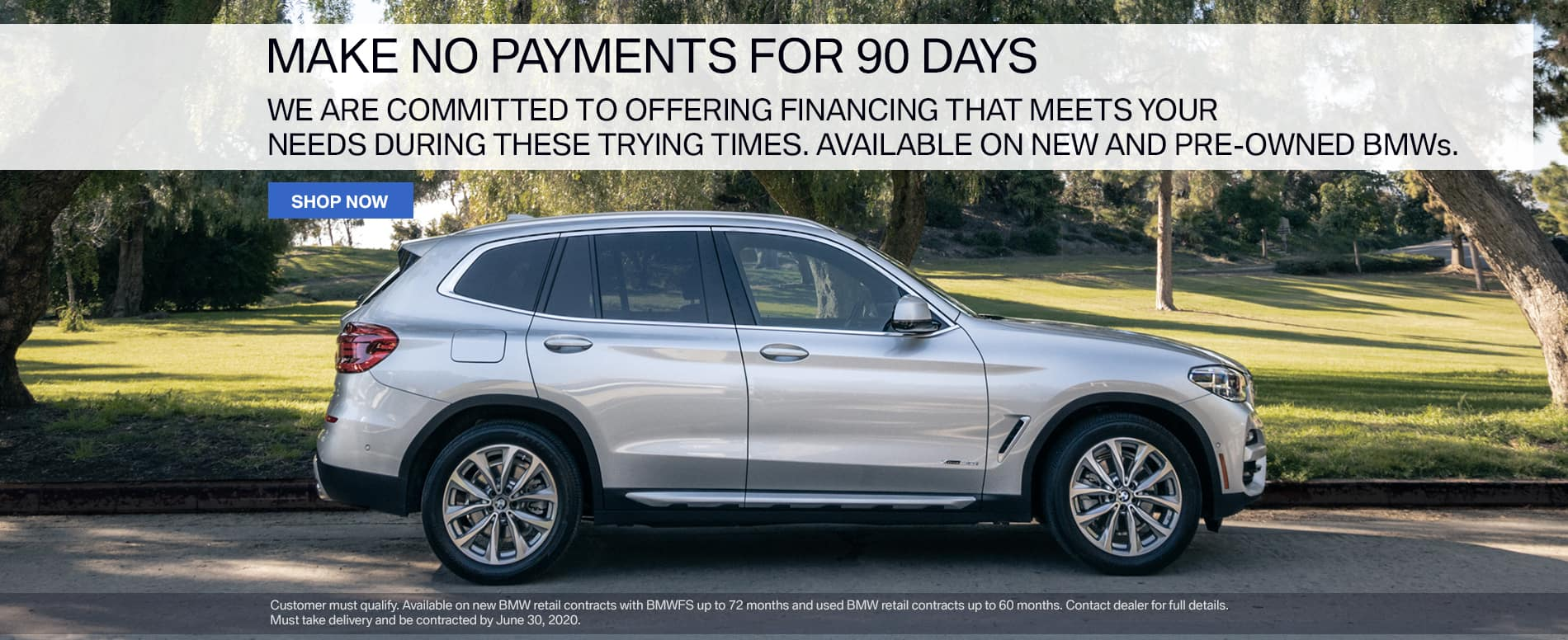 Circle BMW No Payments 90 Days