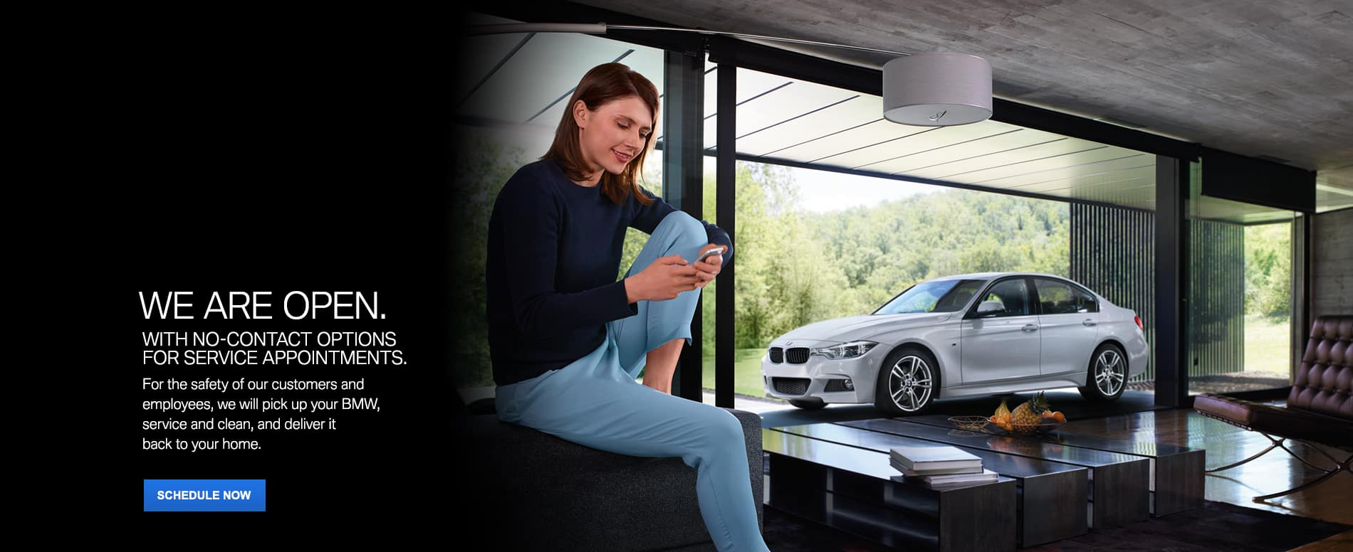 We are open | Circle BMW