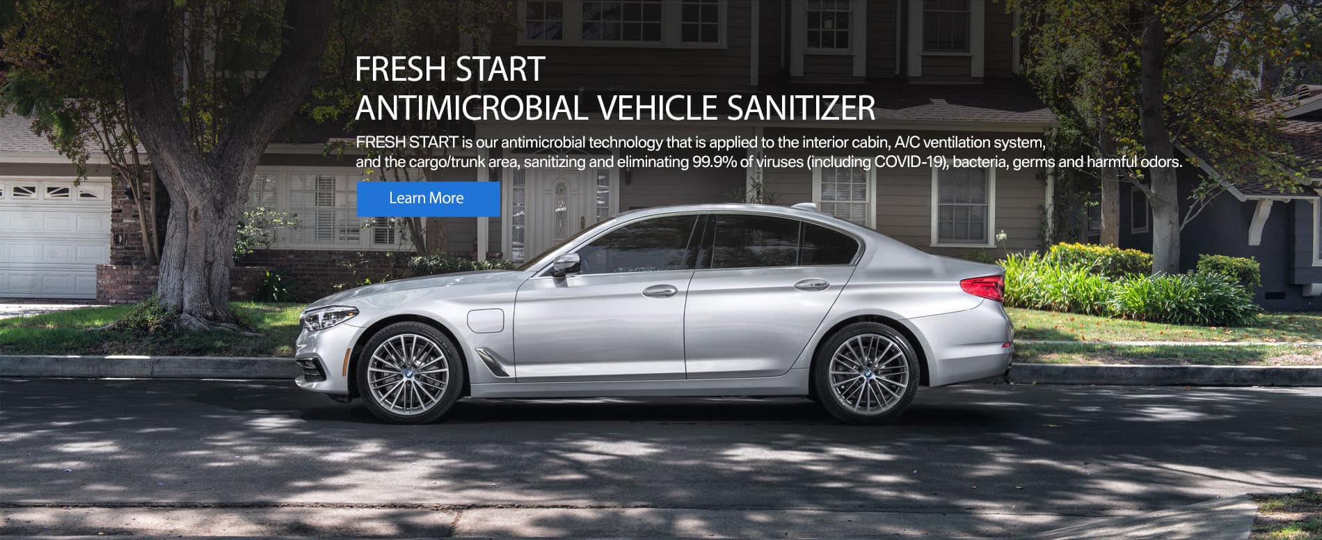 Fresh Start Vehicle Sanitizer at Circle BMW