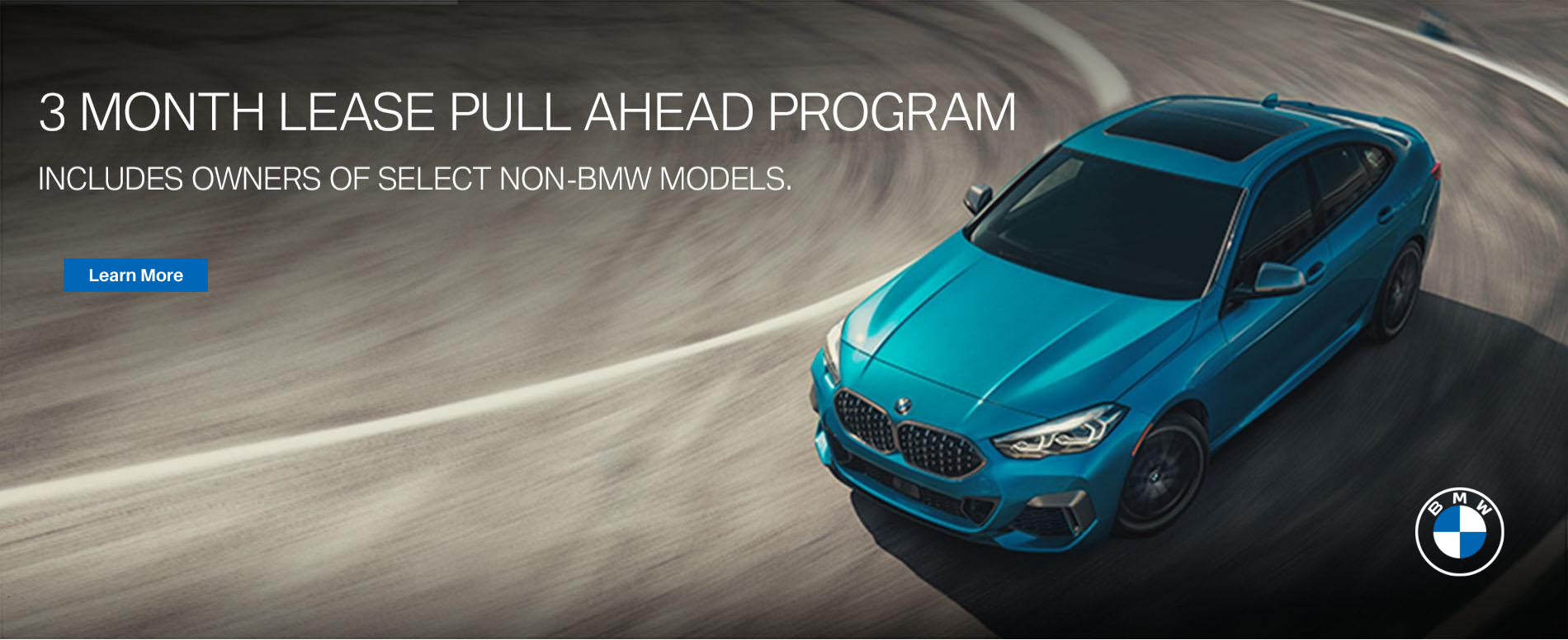Circle BMW pull ahead program