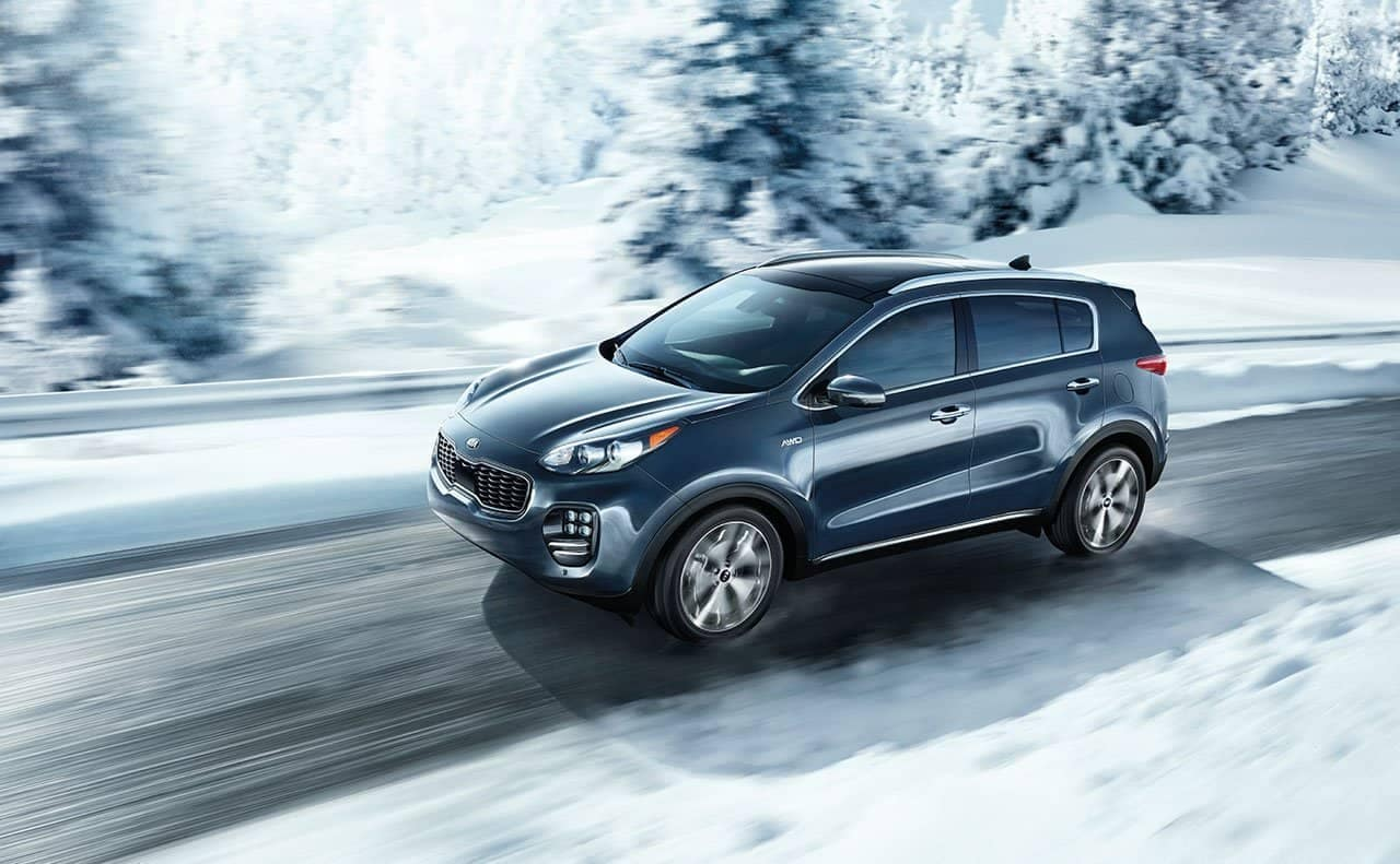 2019-Kia-Sportage-awd-in-snow