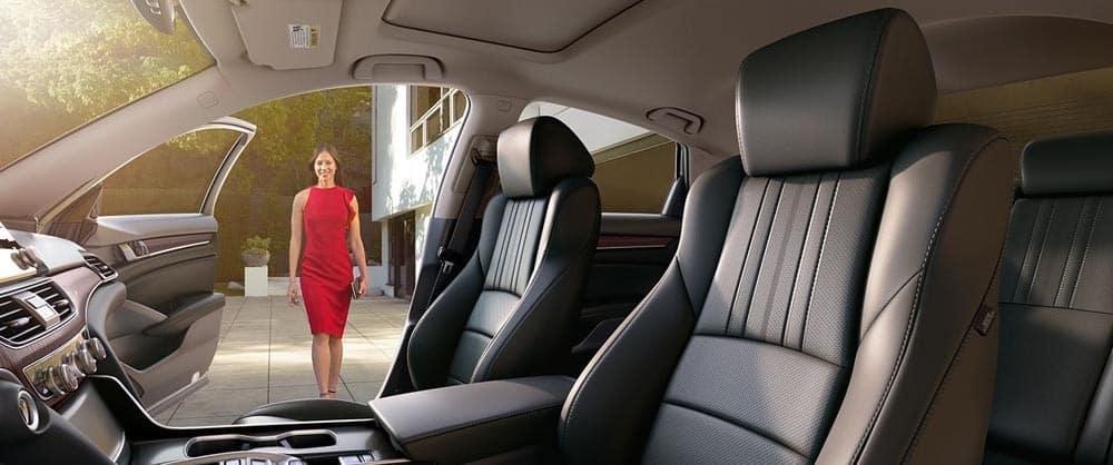 2018 Honda Accord Passenger Door open