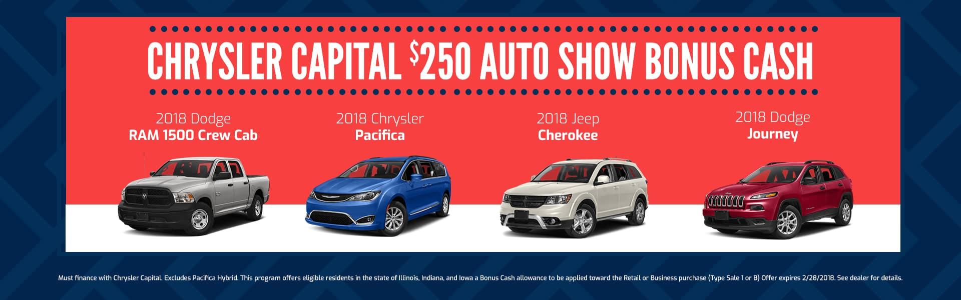 CC Auto Show Bonus Cash