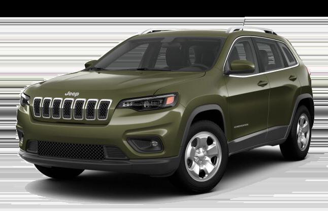 2019 Jeep Cherokee Green