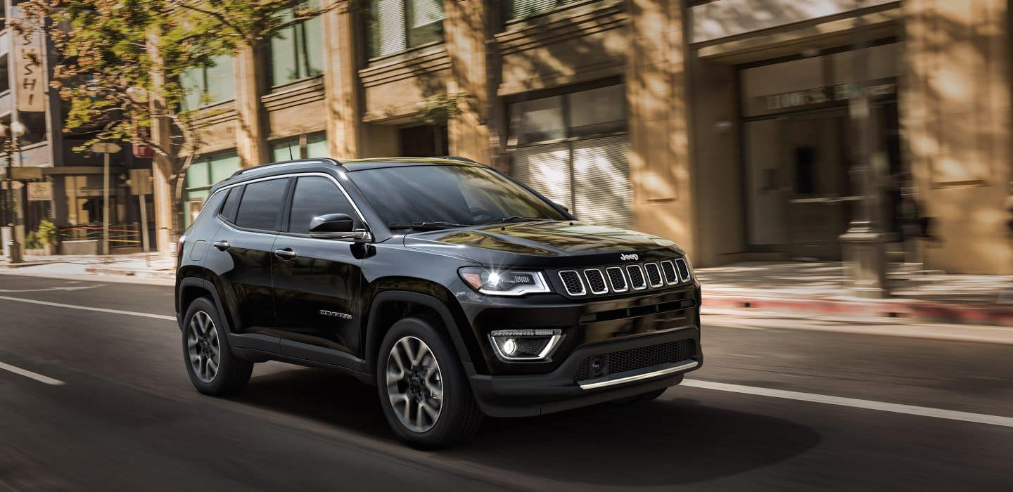 2018 Jeep Compass Black Driving