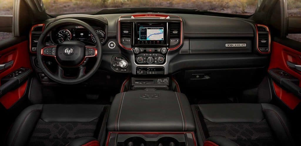 2019 Ram 1500 interior cabin