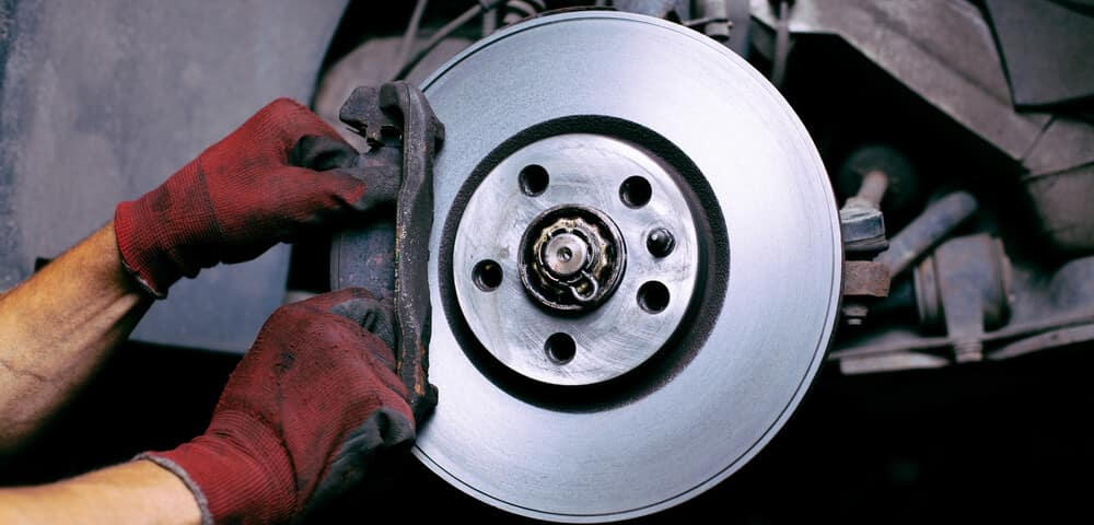 Changing brake pads