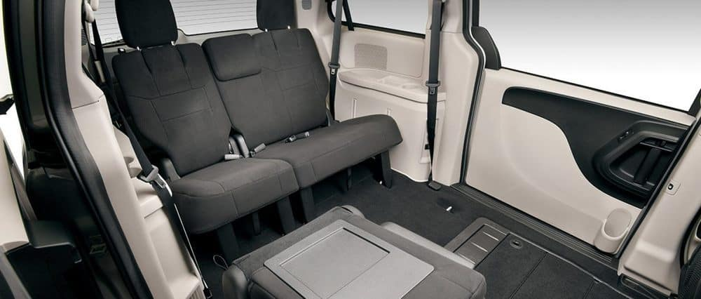 2018 Dodge Grand Caravan Folded Seats