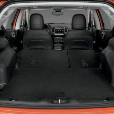 2019 Jeep Compass cargo space