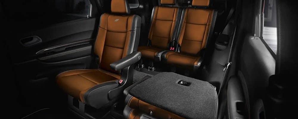 2019 durango rear interior