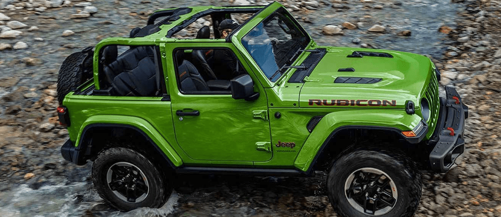 2019 Jeep Wrangler in Bright Green