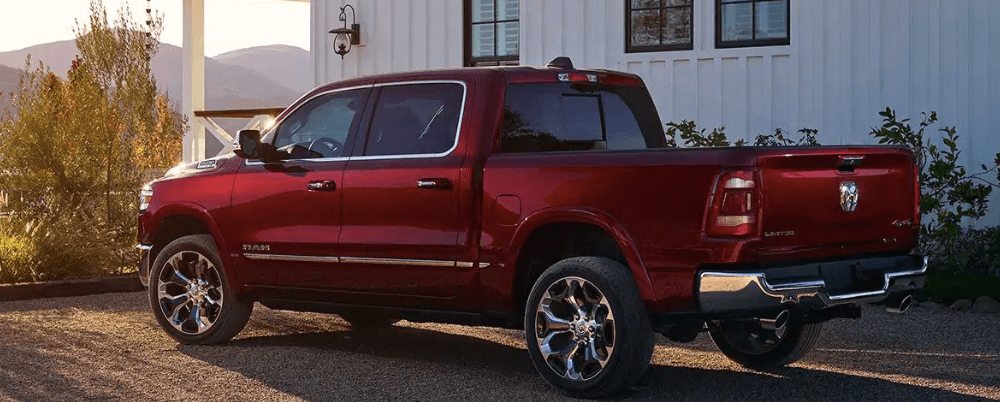 2019 RAM 1500 Outside of a Farmhouse
