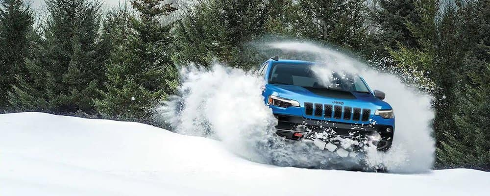 2019 cherokee driving in snow