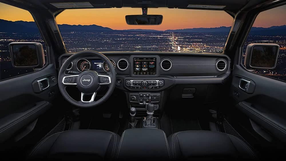 2019 Jeep Wrangler Interior Features & Space  Jeep Chesterton