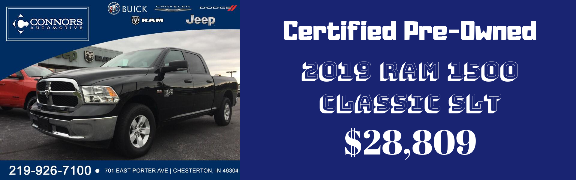 O Connor Chrysler >> New Used Car Dealership In Chesterton In Connors