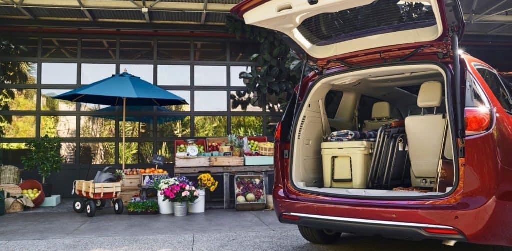 Chrysler Pacifica Cargo Space