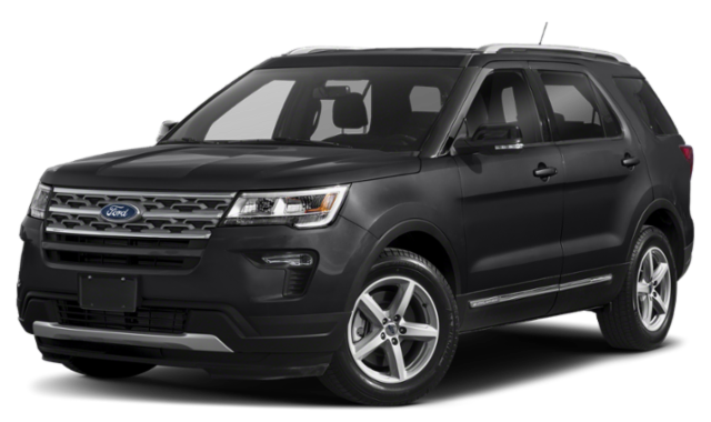 Black 2020 Ford Explorer