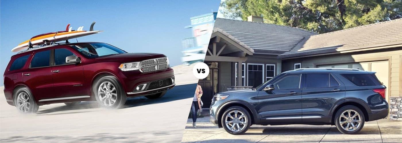2020 Dodge Durango vs 2020 Ford Explorer