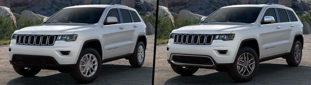 2021 Jeep Grand Cherokee Laredo vs 2021 Jeep Grand Cherokee Limited